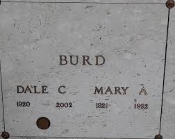 Mary Avis Carlson Burd (1921-1992) - Find A Grave Memorial