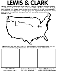 lewis and clark merriweather lewis also thomas jefferson s sister lewis and clark expedition coloring page you can use this activity when teaching about lewis clark and this integrates art