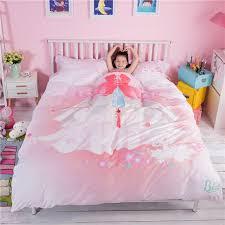 pink princess themed teen kids bedding set zgf