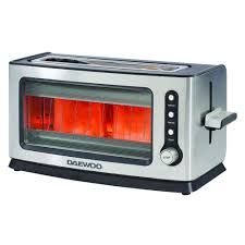 Retro Toasters daewoo 2 slice glass toaster at wilko 6774 by xevi.us