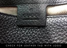 step 1 view the bag for fake gucci details