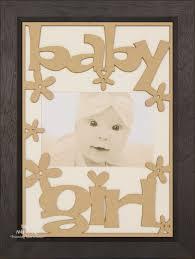 new baby girl gift wooden frame black wood cream zoom