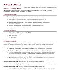 Template Resume Examples For Registered Nurse Templates Free