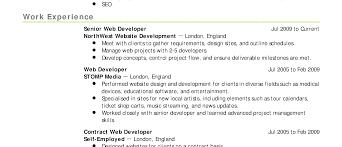 Resume Example For Jobs Free Resume Examples By Industry Job