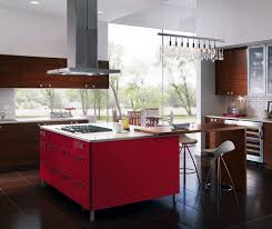 Kitchen designs red kitchen furniture modern kitchen Steel European Style Kitchen With Red Kitchen Cabinets For Island Kitchen Craft Cabinetry Thesynergistsorg Cabinet Styles Inspiration Gallery Kitchen Craft