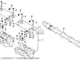 honda cb750k7 four 1977 usa parts lists