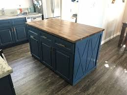 picture of building my own butcher block kitchen island