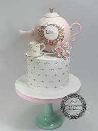 Tea Party Cake Cake By Silvia Caballero Cakesdecor