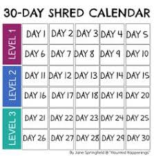 247 Best 30 Day Shred Images In 2019 30 Day Shred Jillian