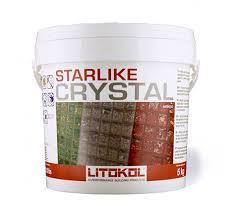 starlike crystal glass tile grout