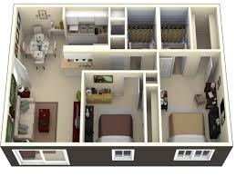 Small 2 Bedroom Apartment Small 2 Bedroom Apartment Layout 2 Bedroom Apartment Design Plans