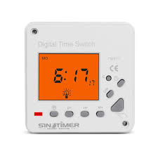 Digital Time Clock For Lighting 220v Ac Lcd Display 7 Days Weekly Digital Electronic Timer Lighting Switch With Backlight And Cover