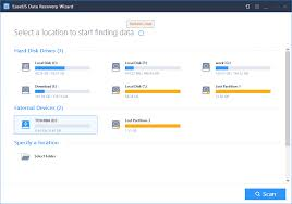 run sd card recovery software