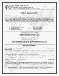 Musical Resume Template Beauteous How To Write A Musical Resume Templates Great Resume Music Of How To