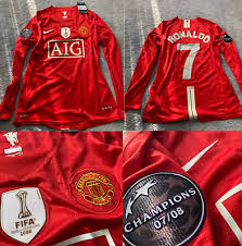 Pa well, the old trafford legend could reclaim his famous number seven shirt. Manchester United Jersey 2008 2009 Shirt Cristiano Ronaldo Long Sleeve Playera 69 00 Picclick