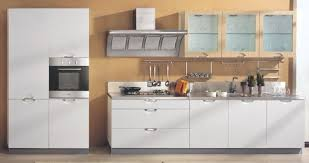 solid semi solid pvc kitchen cabinet doors with modern style