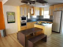 Light Yellow Kitchen Light Wood Kitchen Cabinets Recessed Light Small Eat In Kitchen