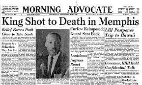 Image result for Assassination of Martin Luther King, Jr.