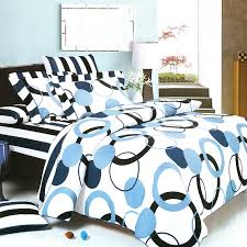 blue bedroom sets for girls. Blue Black And White Comforter Sets Geometric Circle Dot Teen Girl Bedding Modern 17 Bedroom For Girls