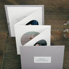 Gray Memories Booklet Mother Of The Bride Gift Parents Thank You