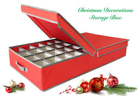 Storage For Christmas Decorations Christmas Ornaments Storage Box
