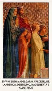sveti Madelgarij (Vincent) - zakonski mož, misijonar in menih