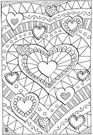 Free Valentine Coloring Pages For Preschoolers Zupa Miljevcicom
