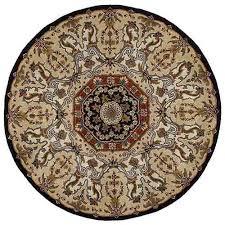 kaleen rugs tara rounds black round 11 ft 9 in rug