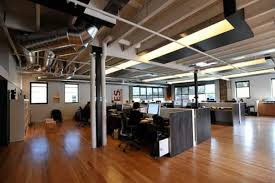 industrial office flooring. Beautiful Industrial Industrial Office Lower Work Stations Possibly Convert Carpet To Hardwood  Flooring Intended Industrial Office Flooring F
