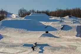 Snowboard Terrain Park Design Spirit Mountain Terrain Park