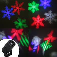 Commercial Snowfall Led Lights 2 Patterns Christmas Snowflake Projector Led Party Disco