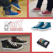 Diy Shoes Design Step By Step My Design Paintable Shoes For Girls For Toddler Little Kid