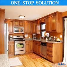 China All Wood Kitchen Cabinets 10x10 Harvest Oak Rta Free Shipping