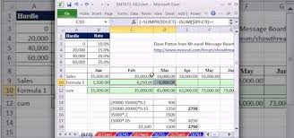 Excel Sliding Scale Chart How To Calculate Commission Based On Varying Rates In Excel