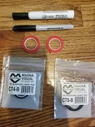 Magna Visual Chart Tape Magna Melamine Board Accessory Kit For Sale In Acworth Ga