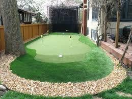 backyard putting green diy astound build outdoor synthetic decorating ideas 18