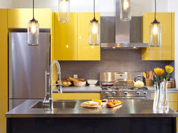 Kitchen:Cool Black Yellow Kitchen Decor And Hkitc After Yellow Kitchen  Cabinets Close Awesome kitchen