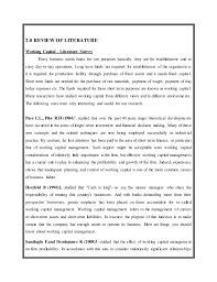 Best Custom Academic Essay Writing Help   Writing Services UK     Literature review of working capital management pdf