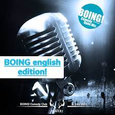 BOING Comedy - Open Mic. english edition - Quater1 Alm Lounge • Club und Bar