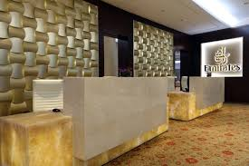 additionally silver and gold members flying emirates or a qantas codeshare with business lounge access can access the first class lounge with a 100