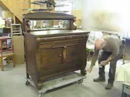 Restoring an Oak Sideboard Thomas Johnson Antique Furniture