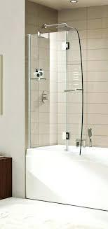 half glass shower door for bathtub clean bathroom glass shower doors soap s lovely inspirational half