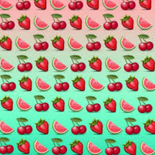 emoji background. Brilliant Emoji CherryMelonStrawberry Emoji Background In