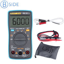<b>BSIDE ZT102 Ture RMS</b> 3 5/6 Digital Multimeter Voltage Current ...
