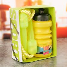 Набор «<b>Ты</b> можешь всё»: <b>бутылка</b> для воды 450 мл, скакалка 280 ...