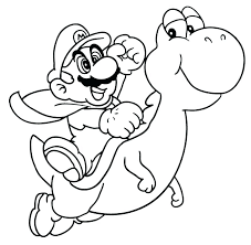 Free Mario And Luigi Coloring Pages To Print And And Coloring Pages
