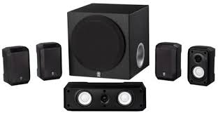 speakers home audio. yamaha ns-sp1800bl 5.1-channel home theater speaker system speakers audio s