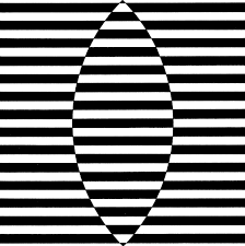 Resultado de imagen de creating the impression of depth, bridget riley
