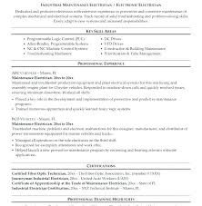 Building Maintenance Sample Resume Staggering Maintenance Technician