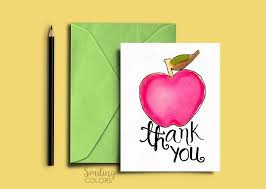 Printable Thank You Cards For Teachers Free Printable Thank You Cards For Teachers